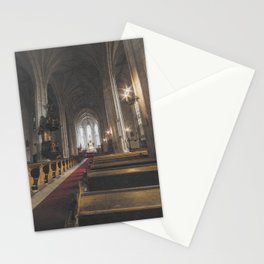 St Michael Roman Catholic Church Cluj Napoca Romania Koloszvar Stationery Cards