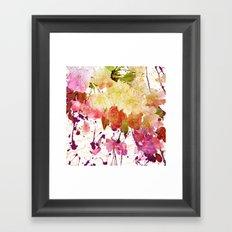 sweet spring floral Framed Art Print