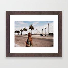 St Kilda; MELBS Framed Art Print