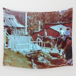 Donkey Ride Wall Tapestry