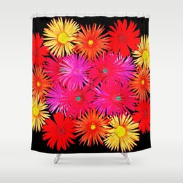 Bouquet on display Shower Curtain