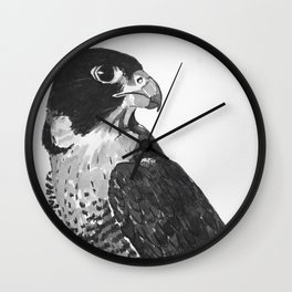 Peregrine Falcon Wall Clock