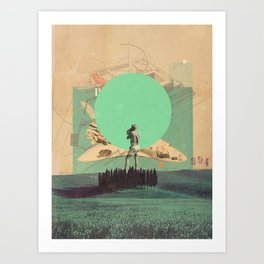 Hopes in Range Art Print