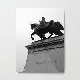 St. Louis Riding High Metal Print