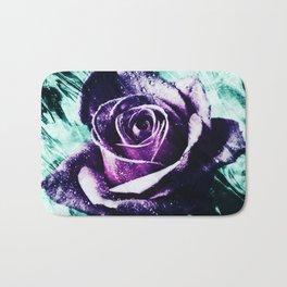purple violet rose Bath Mat