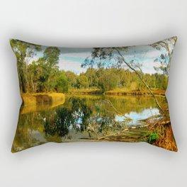 Dusk over a Swamp Rectangular Pillow