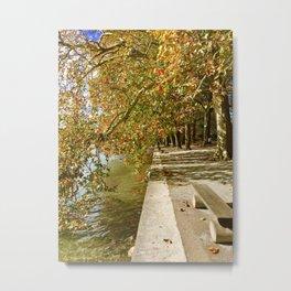 Walk Along Photography Metal Print