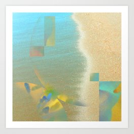 quicksand: divine symmetry IV  Art Print