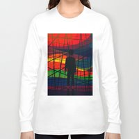 eternal sunshine of the spotless mind Long Sleeve T-shirts featuring Imprisoned Mind by Rendra Sy