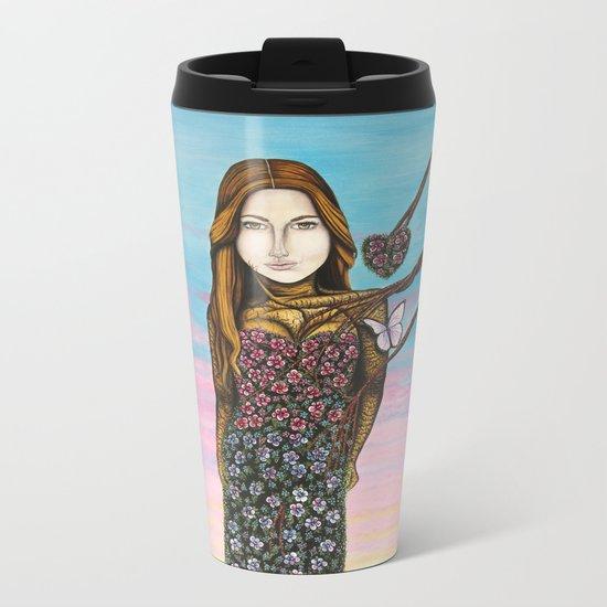L'amour irrésistible Metal Travel Mug