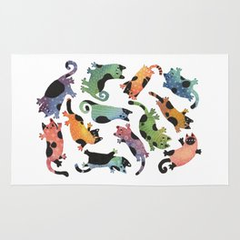 12 cats Rug