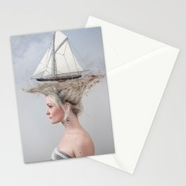 Sailing - White Stationery Cards
