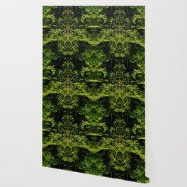 Peering Greens Wallpaper