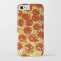 pizza iPhone & iPod Cases featuring Pizza by Katieb1013