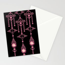 CASTELLINA JEWELS: PRETTY PINK PANACHE Stationery Cards