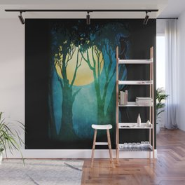 Dance By The Light Of The Full Moon Wall Mural