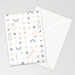 Pasteli Lineas Stationery Cards