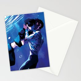 Underwater kiss Stationery Cards