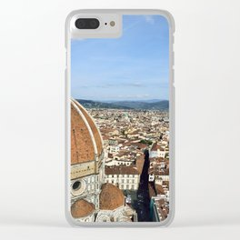 Duomo and the city Clear iPhone Case