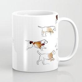 Beagles hunting Coffee Mug