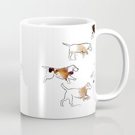 Beagles hunting Coffee Mug