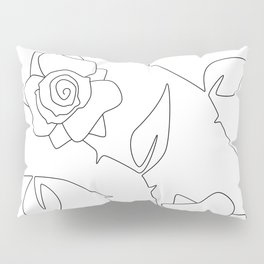 Rose Bush Pillow Sham