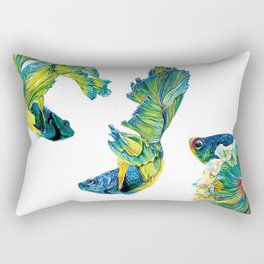 Ocean Dream- Betta Fish Rectangular Pillow