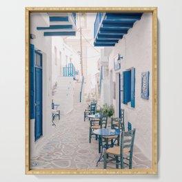 Milos 0024: Kimolos, Milos, Greece Serving Tray