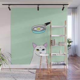 Fat D. Loves Fried Egg Wall Mural
