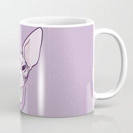 Lilac Point Seal Grumply Wrinkly Sphynx Kitty - Hairless Cat Illustration - Bad Cattitude - Line Tattoo Art Coffee Mug