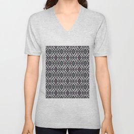 Bright ethnic pattern. 2 Unisex V-Neck