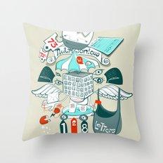 brinking valomatics Throw Pillow
