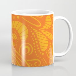 Wild Pop Orange Coffee Mug