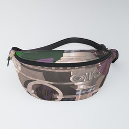 Ionic POV Ray Tracing Fanny Pack