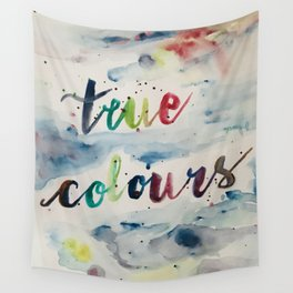 True colors Wall Tapestry