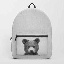 Baby Bear - Black & White Backpack