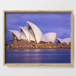 Sydney Opera House Serving Tray