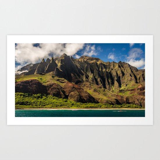 Kapaa, Hawaii Art Print