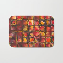 Red Blood Cells in Flow Bath Mat