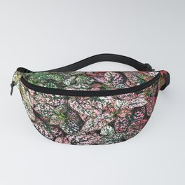 Colorful Plant Leaf Pattern Fanny Pack