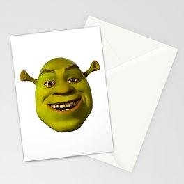 Little shrek meme Stationery Cards