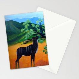 Kudu Landscape Acrylic Stationery Cards