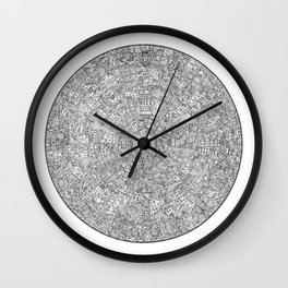 The Inner Hive Wall Clock