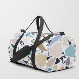 Pastel Terrazzo Duffle Bag