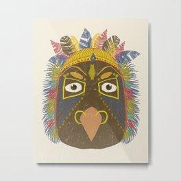 Chief I Metal Print