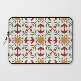 Starflower Quilt Pattern Laptop Sleeve