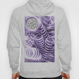 Lilac Industrial Composition Hoody