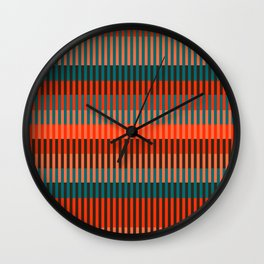 Primitive_ART_001 Wall Clock