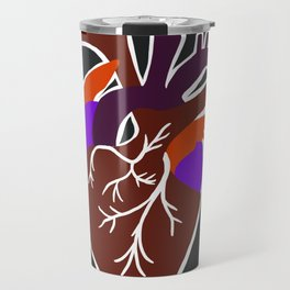 anatomic heart Travel Mug