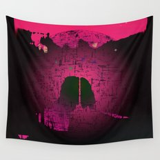 Planetary Mood 6 / Two Inside Doors Wall Tapestry